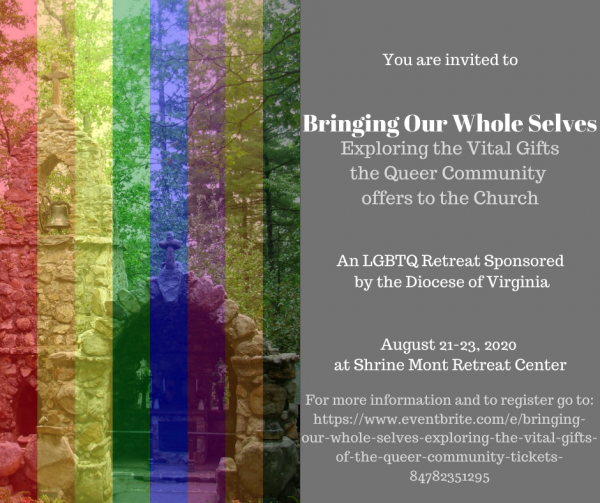 Diocese of Virginia announces 1st LGBTQ retreat